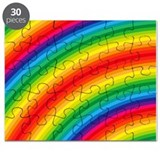 Rainbow Striped Pattern Puzzle