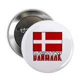 Danmark Flag & Word Button
