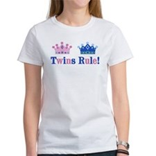 Twins Rule! (Girl & Boy) Tee