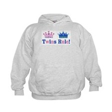 Twins Rule! (Girl & Boy) Hoodie