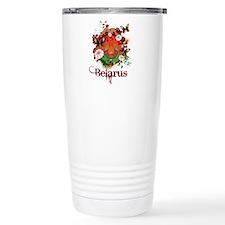 Cute Belarus Travel Mug