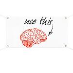 Use brain Banner