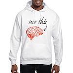 Use brain Hooded Sweatshirt