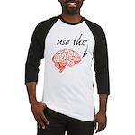 Use brain Baseball Jersey