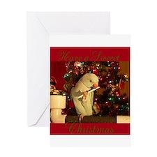 Sweeet Christmas Greeting Card