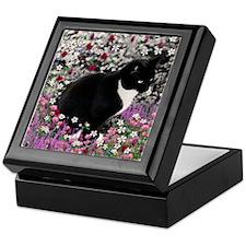 Freckles in Flowers II Keepsake Box