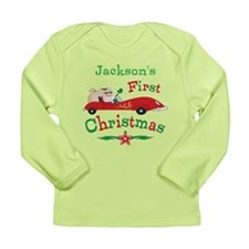 Custom 1st Christmas Long Sleeve Infant T-Shirt
