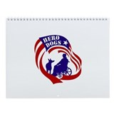 Hero Dogs 2013 Wall Calendar