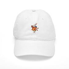 Alice's White Rabbit Baseball Cap