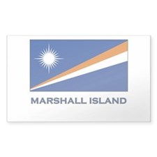 The Marshall Islands Flag Merchandise Decal