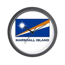 The Marshall Islands Flag Merchandise Wall Clock