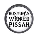 Boston Wicked Pissah Wall Clock