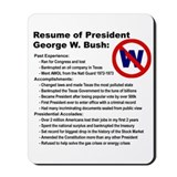 Bush/Resume Mousepad