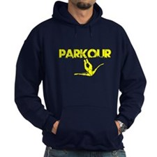 Parkour Flyer, Yellow, Hoodie