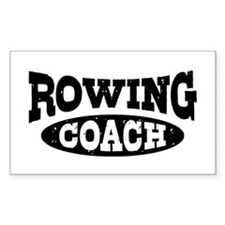 Rowing Coach Decal