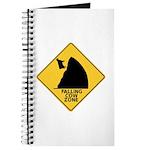 Falling Cow Zone Yellow Journal
