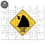 Falling Cow Zone Yellow Puzzle