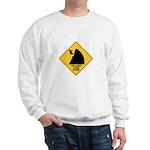 Falling Cow Zone Yellow Sweatshirt
