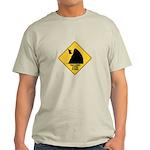 Falling Cow Zone Yellow Light T-Shirt