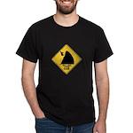 Falling Cow Zone Yellow Dark T-Shirt