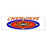 CHEROKEE WATER SPIDER Bumper Sticker