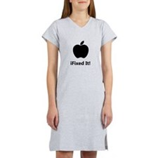 iFixed It Apple Women's Nightshirt