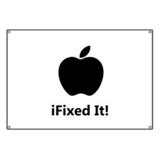 iFixed It Apple Banner