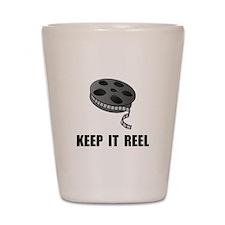 Keep Movie Reel Shot Glass
