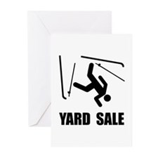 Ski Yard Sale Greeting Cards (Pk of 10)
