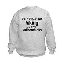 Id rather be...anything ADK Sweatshirt