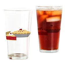 Cherry Pies Drinking Glass