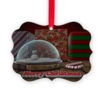Christmas Snow Globe Ornament
