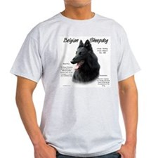 Belgian Sheepdog Ash Grey T-Shirt