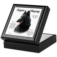 Belgian Sheepdog Keepsake Box