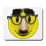 Smiley Disguise Mousepad