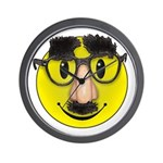 Smiley Disguise Wall Clock