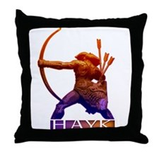 Hayk the Hero Throw Pillow