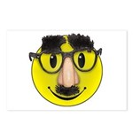 Smiley Disguise Postcards (Package of 8)