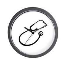 Stethoscope doctor Wall Clock