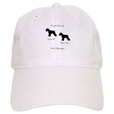 2 Schauzers - Cropped Tails/Natural Ears Cap