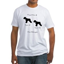 2 Schauzers - Cropped Tails/Natural Ears Shirt