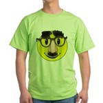 Smiley Disguise Green T-Shirt