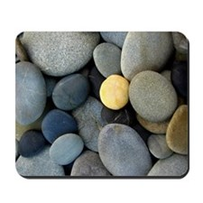 beach pebbles mousepad