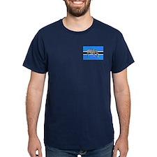 Botswana Football Flag T-Shirt
