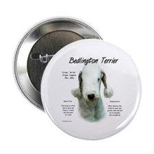 Bedlington Terrier Button