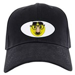 Smiley Disguise Black Cap