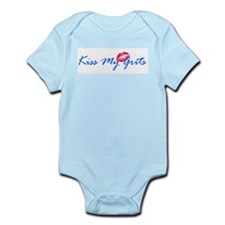 Kiss My Grits Infant Bodysuit
