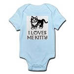 I LOVES ME KITTY - Baby creeper