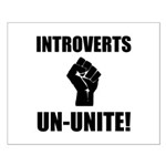 Introverts Un Unite Small Poster