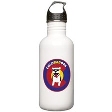 THE Official ColoRADogs Logo Water Bottle